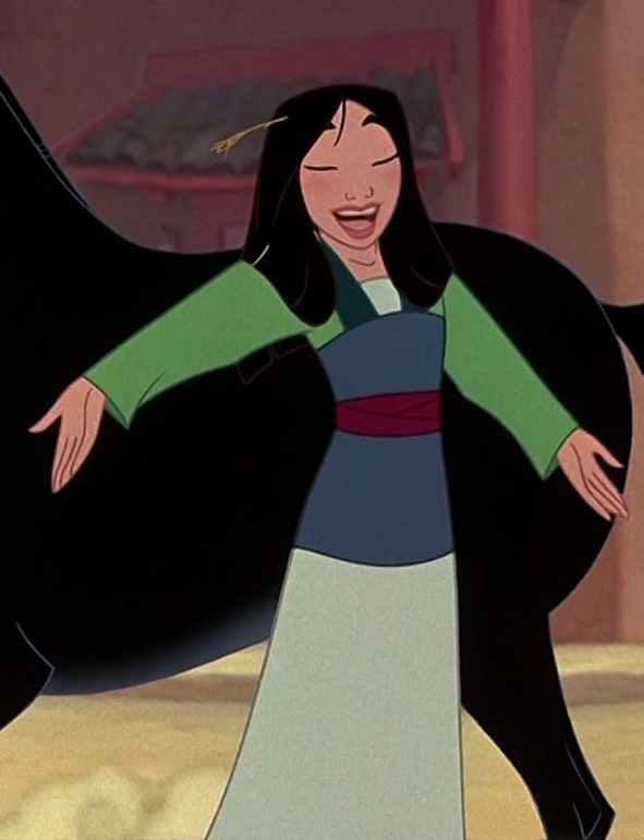 Mulan Green Dress